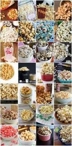 101 Creative Popcorn Toppings - 250 Popcorn Recipes - RecipePin.com