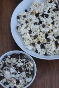 This black and white popcorn recip - 250 Popcorn Recipes - RecipePin.com