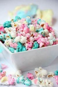 Cotton Candy Popcorn - Candy coate - 250 Popcorn Recipes - RecipePin.com