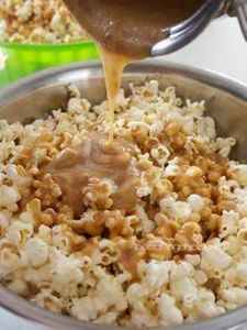 Caramel Corn - 250 Popcorn Recipes - RecipePin.com