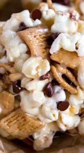 S'mores Popcorn Balls - 250 Popcorn Recipes - RecipePin.com