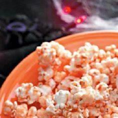 Goblin's Orange Popcorn Recipe - S - 250 Popcorn Recipes - RecipePin.com
