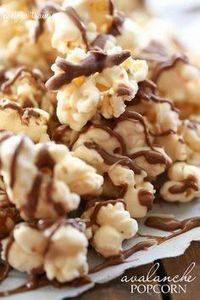 Avalanche Popcorn... this popcorn  - 250 Popcorn Recipes - RecipePin.com