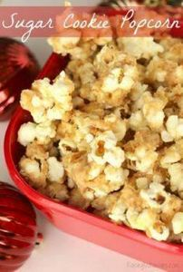 Sugar Cookie Popcorn Recipe | make - 250 Popcorn Recipes - RecipePin.com