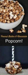 Air popped popcorn blended with pe - 250 Popcorn Recipes - RecipePin.com
