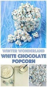 This Winter Wonderland White Choco - 250 Popcorn Recipes - RecipePin.com