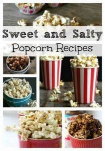 Sweet and Salty Popcorn Recipes th - 250 Popcorn Recipes - RecipePin.com