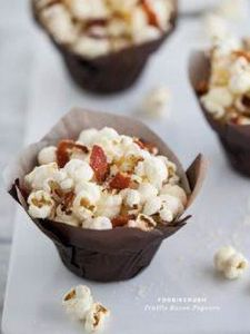 Truffle bacon popcorn - 250 Popcorn Recipes - RecipePin.com