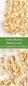 This Salted Peanut Butterscotch Ca - 250 Popcorn Recipes - RecipePin.com
