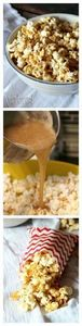 Salted Caramel Popcorn..the only c - 250 Popcorn Recipes - RecipePin.com