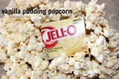 ~Vanilla Pudding Popcorn! | Oh Bit - 250 Popcorn Recipes - RecipePin.com