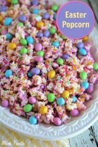 Easter Popcorn : A Fun Easter Trea - 250 Popcorn Recipes - RecipePin.com