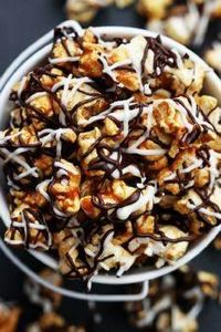Sweet and salty crunchy caramel co - 250 Popcorn Recipes - RecipePin.com