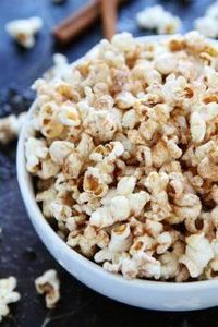 Brown Butter Cinnamon Sugar Popcor - 250 Popcorn Recipes - RecipePin.com