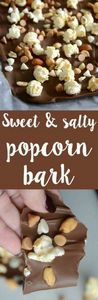Delicious sweet and salty popcorn  - 250 Popcorn Recipes - RecipePin.com