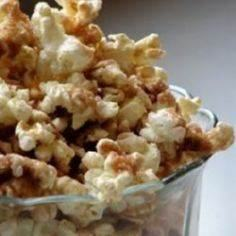 This popcorn is baked with a cinna - 250 Popcorn Recipes - RecipePin.com