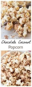 5 ingredient sweet and salty choco - 250 Popcorn Recipes - RecipePin.com