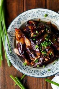 Chinese Eggplants with Minced Pork - 180 Pork Recipes