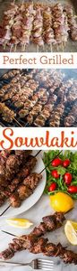 Perfect grilled souvlaki- this is  - 180 Pork Recipes