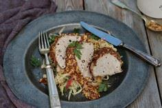 Mustard-Crusted Pork Loin With App - 180 Pork Recipes