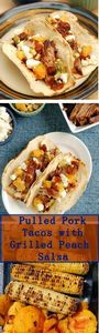 Pulled Pork Tacos with Grilled Pea - 180 Pork Recipes