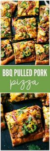 BBQ Pulled Pork Pizza is so quick  - 180 Pork Recipes