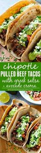 Kicked up chipotle crockpot beef t - 180 Pork Recipes