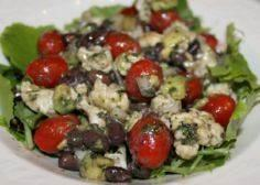 Black Bean Salad with Tomatoes and -245 Salad Recipes - RecipePin.com