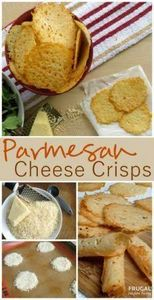 SO YUMMY Parmesan Cheese Crisps on -245 Salad Recipes - RecipePin.com
