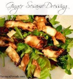 Grilled Chicken Salad with Ginger  -245 Salad Recipes - RecipePin.com