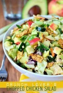 Crunch Lover's Chopped Chicken Sal -245 Salad Recipes - RecipePin.com