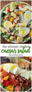 Ultimate Caesar Salad with grilled -245 Salad Recipes - RecipePin.com