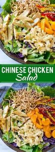 This recipe for Chinese chicken sa -245 Salad Recipes - RecipePin.com