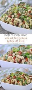 Pasta Chicken Salad with sun dried -245 Salad Recipes - RecipePin.com