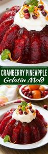 Raspberry gelatin is combined with -245 Salad Recipes - RecipePin.com