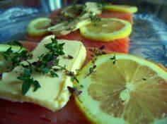 Simple Baked Salmon with Butter, L - 185 Salmon Recipes - RecipePin.com