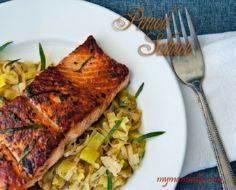 Salmon Pernod Recipe - Easy Dinner - 185 Salmon Recipes - RecipePin.com