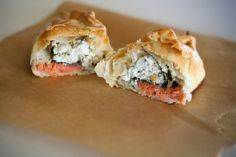 Smoked salmon, goat cheese and spi - 185 Salmon Recipes - RecipePin.com