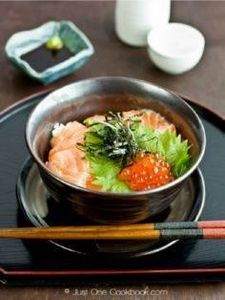 Salmon & Ikura Don recipe | Ea - 185 Salmon Recipes - RecipePin.com