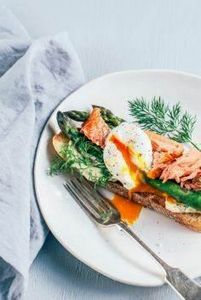 Hot Smoked Salmon, Asparagus and P - 185 Salmon Recipes - RecipePin.com