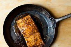 Maple-Cardamom Glazed Salmon - 185 Salmon Recipes - RecipePin.com