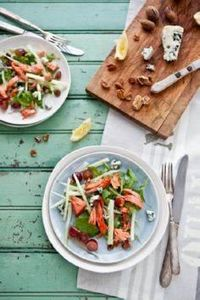 Smoked Salmon, Fennel, Grape, Blue - 185 Salmon Recipes - RecipePin.com