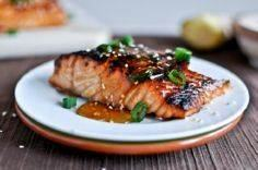 Toasted Sesame Ginger Salmon - 185 Salmon Recipes - RecipePin.com