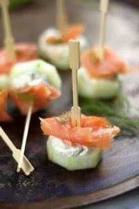 Smoked Salmon and Cream Cheese Cuc - 185 Salmon Recipes - RecipePin.com
