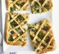 Salmon & broccoli tart - 185 Salmon Recipes - RecipePin.com
