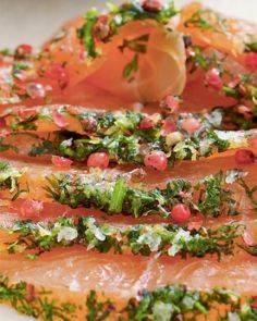 Mormor's Aquavit-Cured Salmon with - 185 Salmon Recipes - RecipePin.com