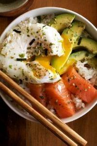 Salmon Donburi | Set the Table - 185 Salmon Recipes - RecipePin.com
