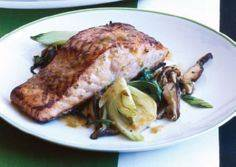 Salmon bulgogi with bok choy and mushrooms. - 185 Salmon Recipes - RecipePin.com