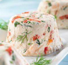 Salmon Mousse with Dill - 185 Salmon Recipes - RecipePin.com