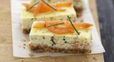 Recette - Cheesecake au saumon fum - 185 Salmon Recipes - RecipePin.com